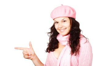 Women Pointing